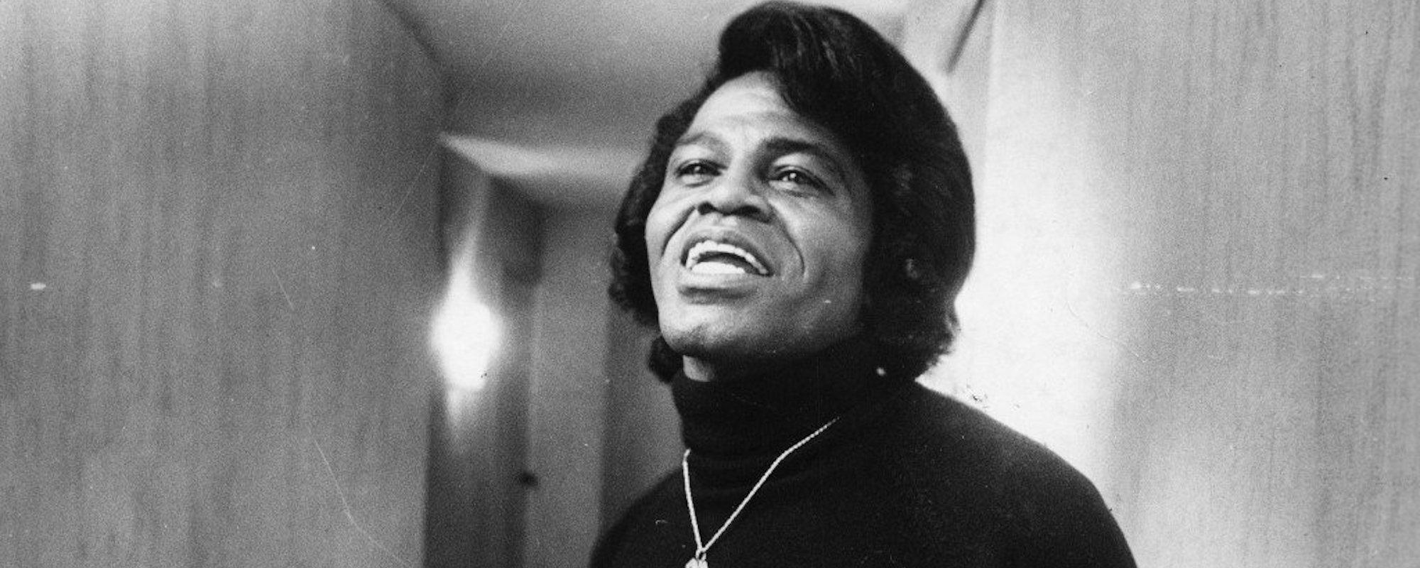 James Brown Smiling