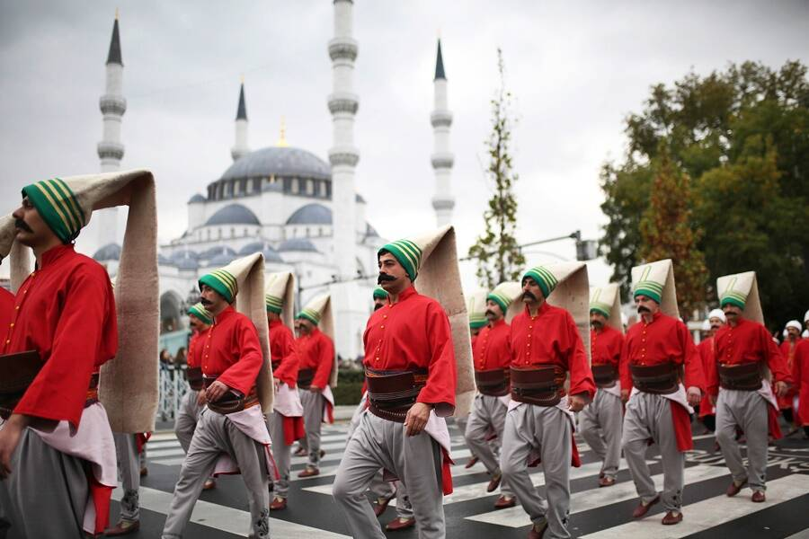 Janissary Reenactment In Turkey