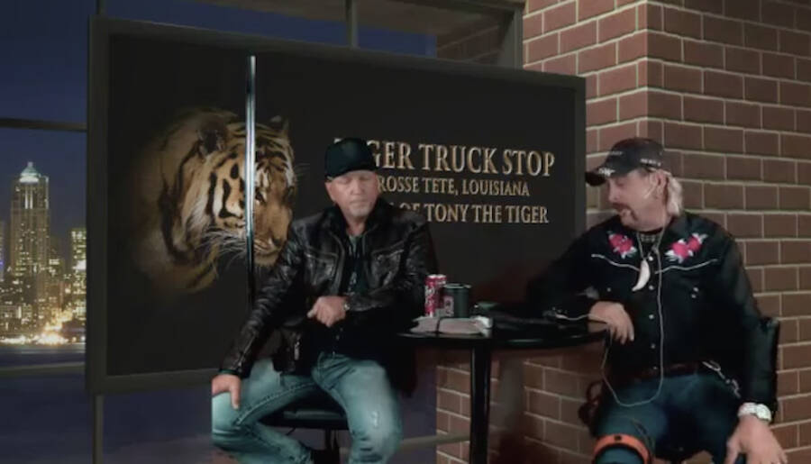Jeff Lowe And Tiger King Joe Exotic