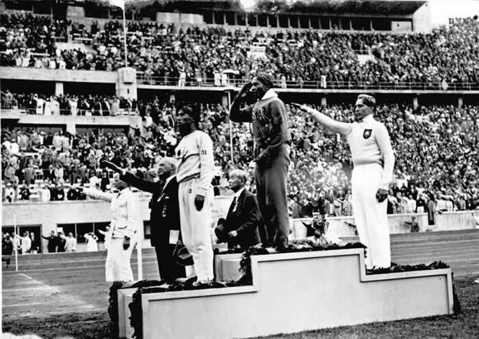 Jesse Owens At 1936 Olympics