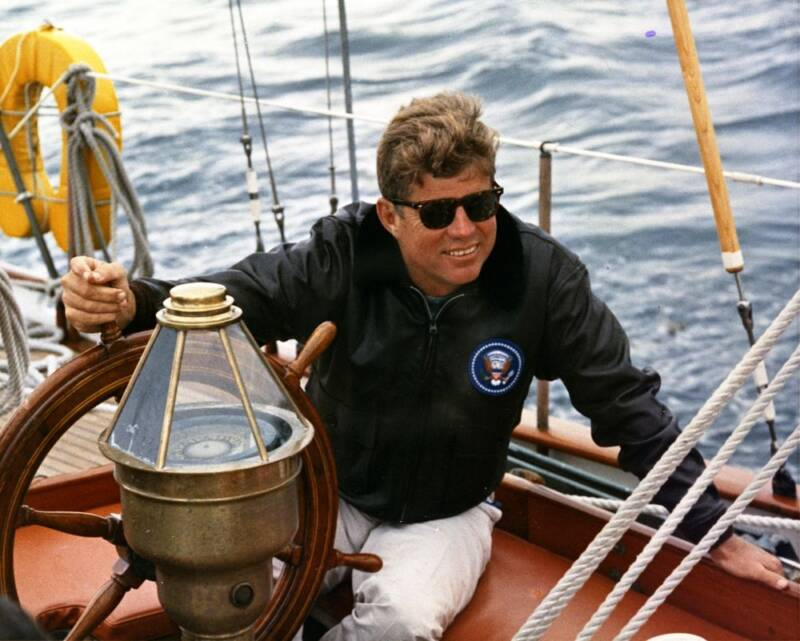 JFK Steering The Manitou