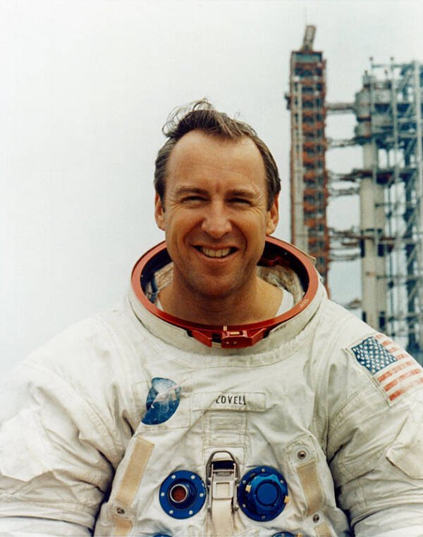Jim Lovell At Kennedy Space Center