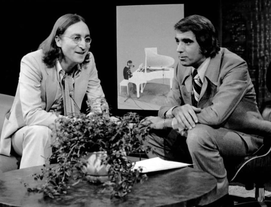 John Lennon And Tom Snyder