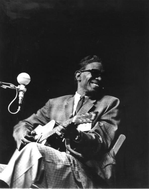 Lightnin Hopkins At The Newport Folk Festival