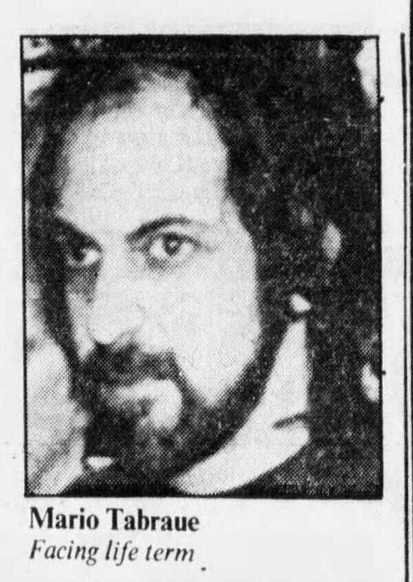 Mario Tabraue Under Arrest
