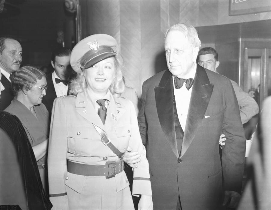 Marion Davies And William Hearst At The Palladium
