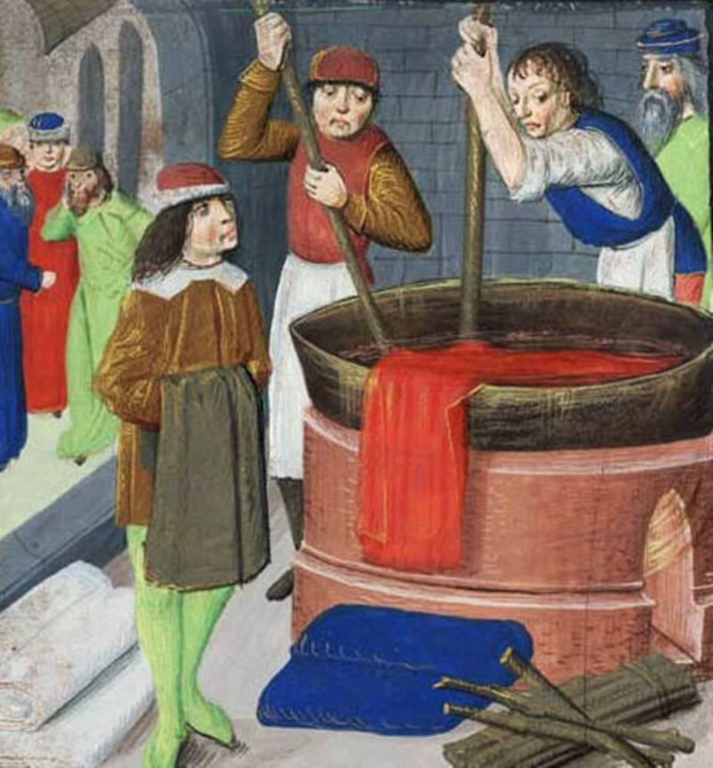 Medieval Dyeing