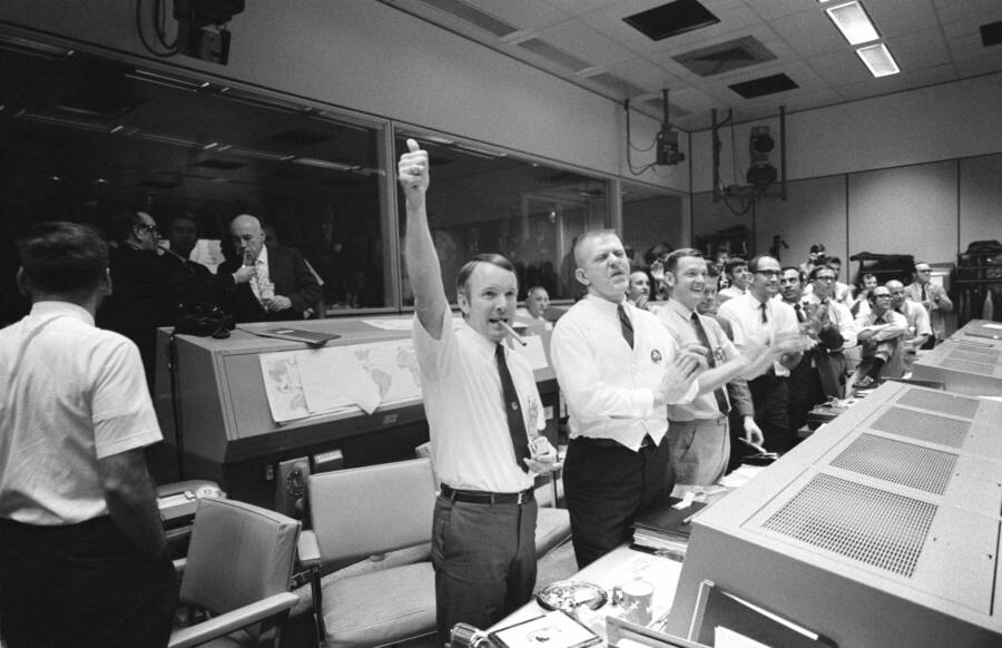 Mission Control Celebrates Apollo 13 Crew Safety