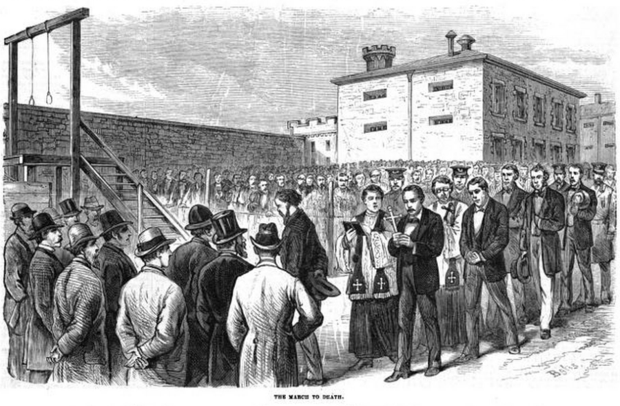 Molly Maguires Execution