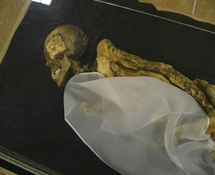 Mummy Of The Ukok Princess