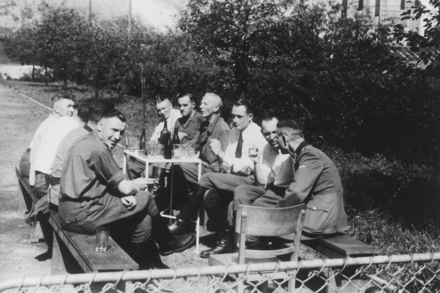 Nazis Having A Picnic