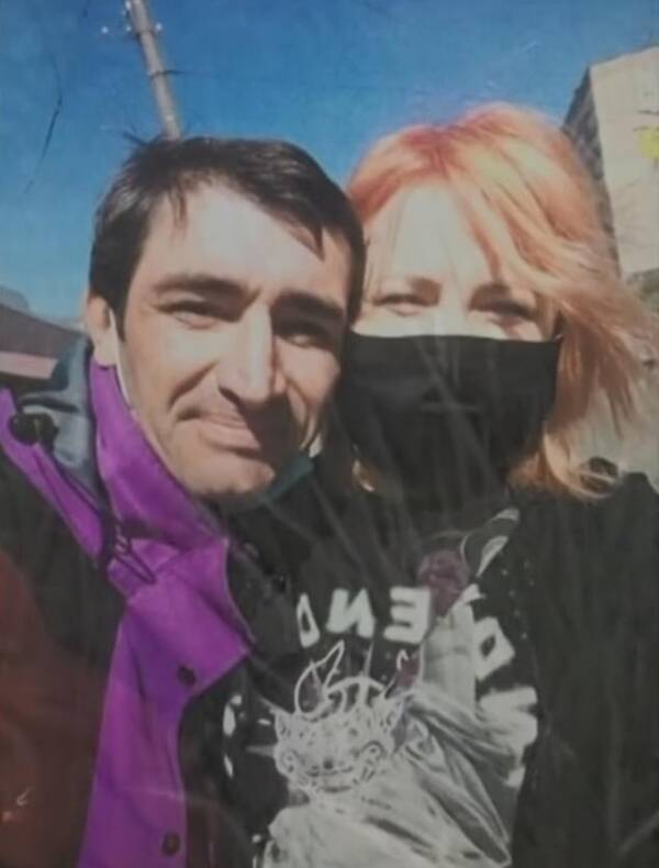 Oleksandr And His Girlfriend