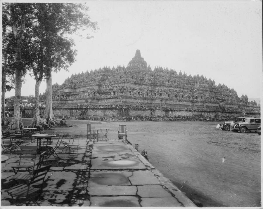 Portrait Of Old Borobudur