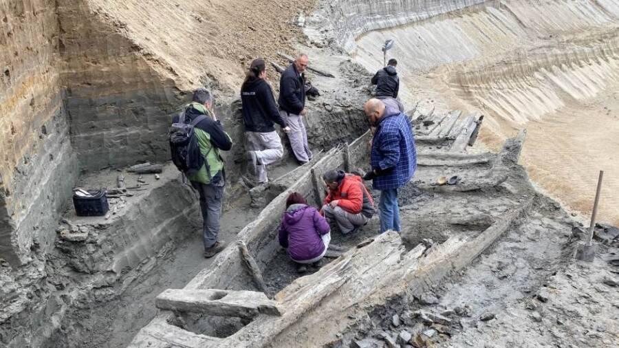 Researchers At Viminacium Shipwreck Site