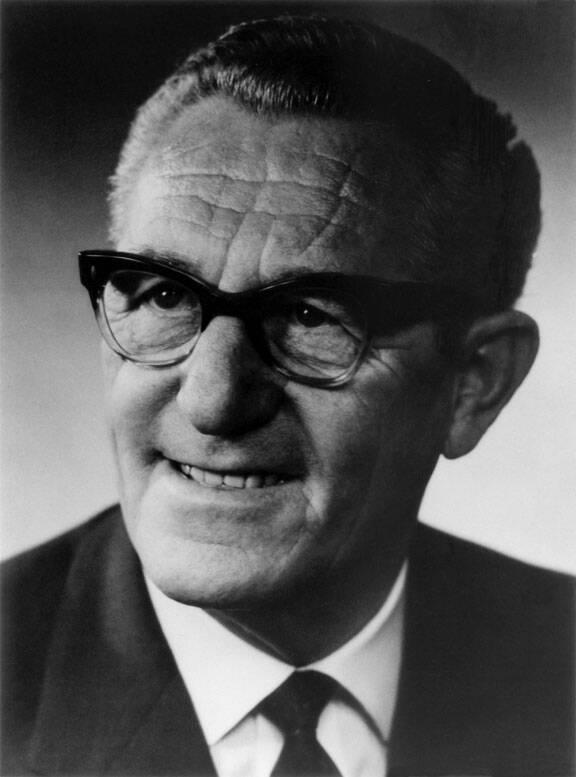 Rudolf Dassler's Portrait