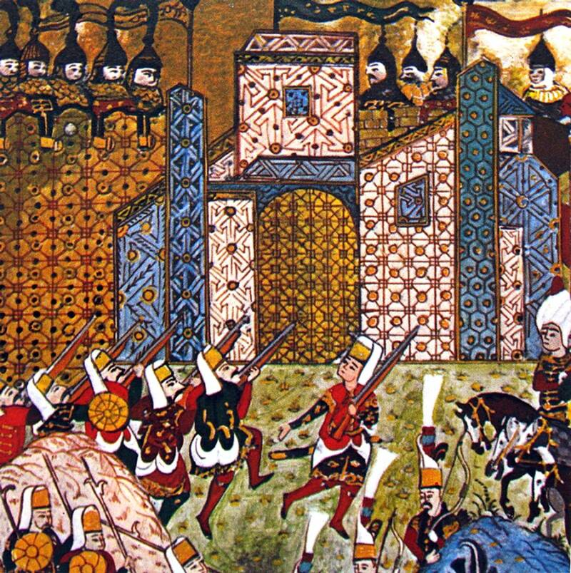 Siege Of Rhodes