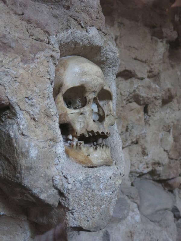 Skull At Niš Tower