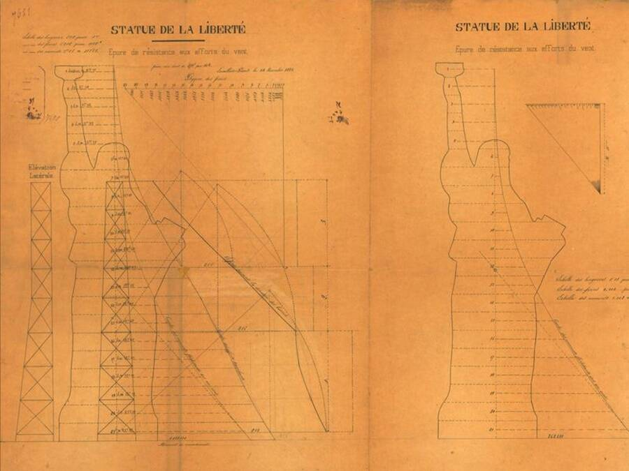 Newly Found Sketches Reveal The Statue Of Liberty Had A Last Minute Design Change