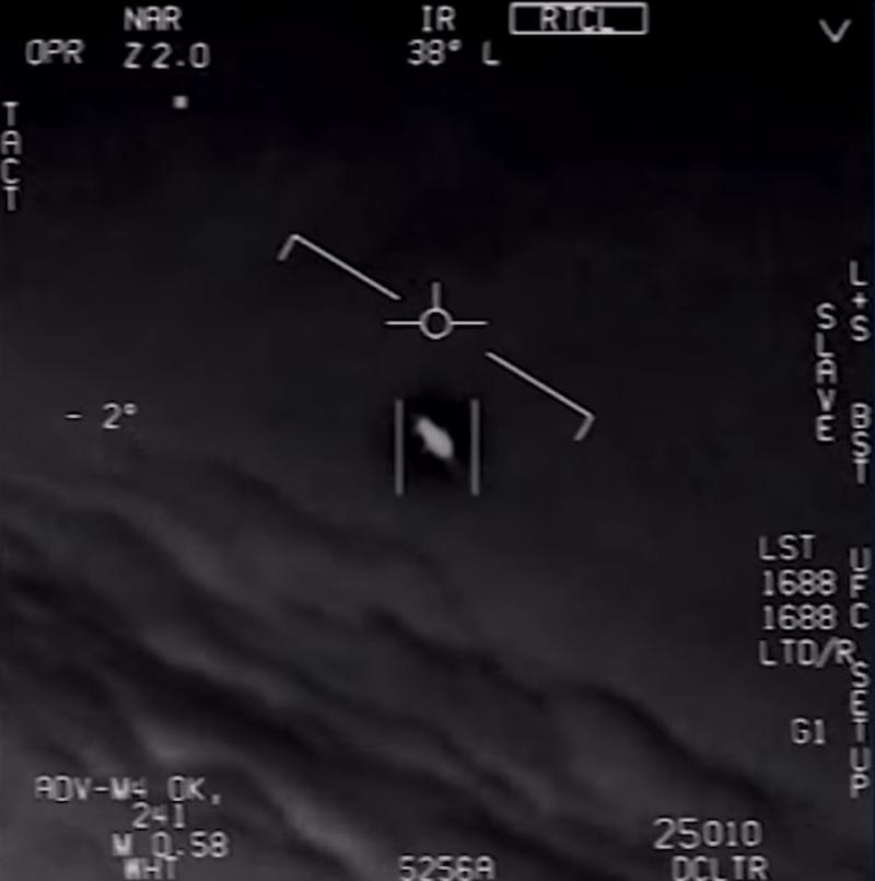 Still Of The Navy Ufo Footage