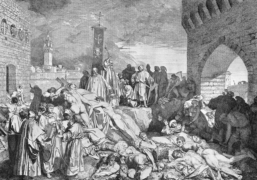 The Plague Of Florence