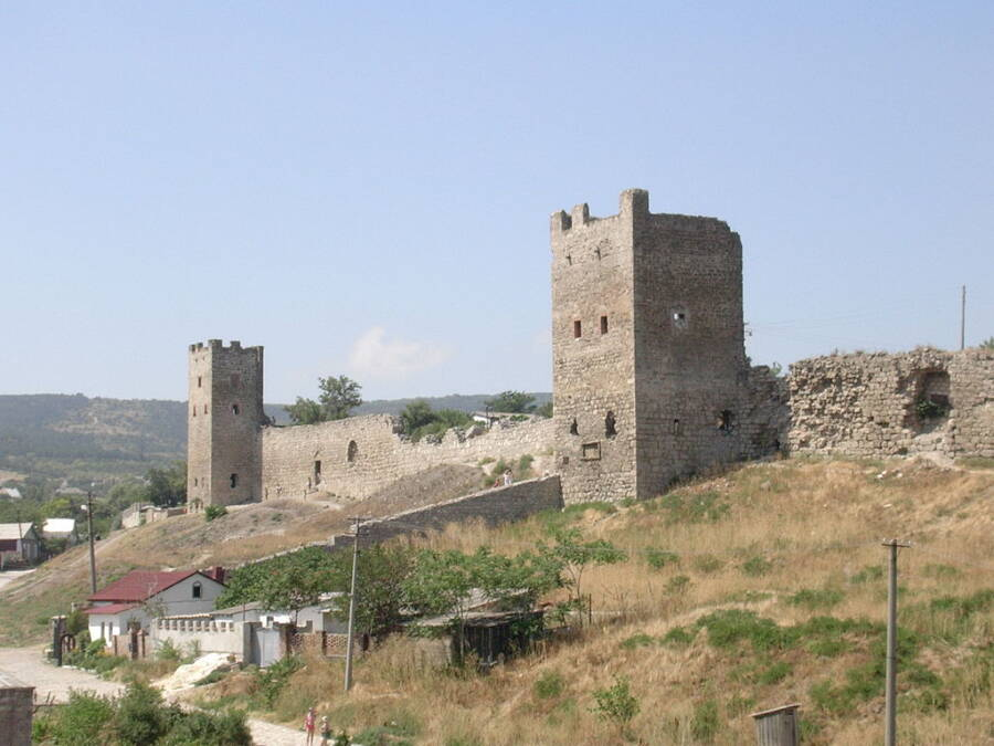 Theodosia Castle In Kaffa