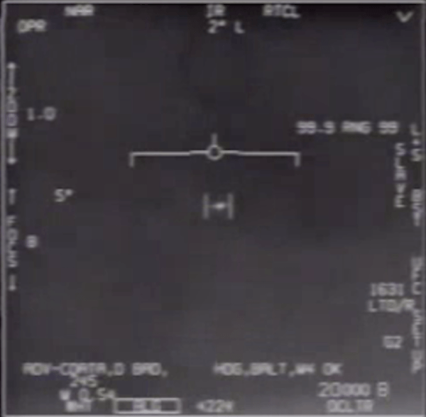 Unidenfitied Flying Object Captured By Navy Infrared