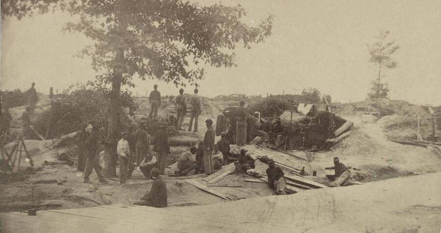 U.S. Colored Troops In Petersburg, VA