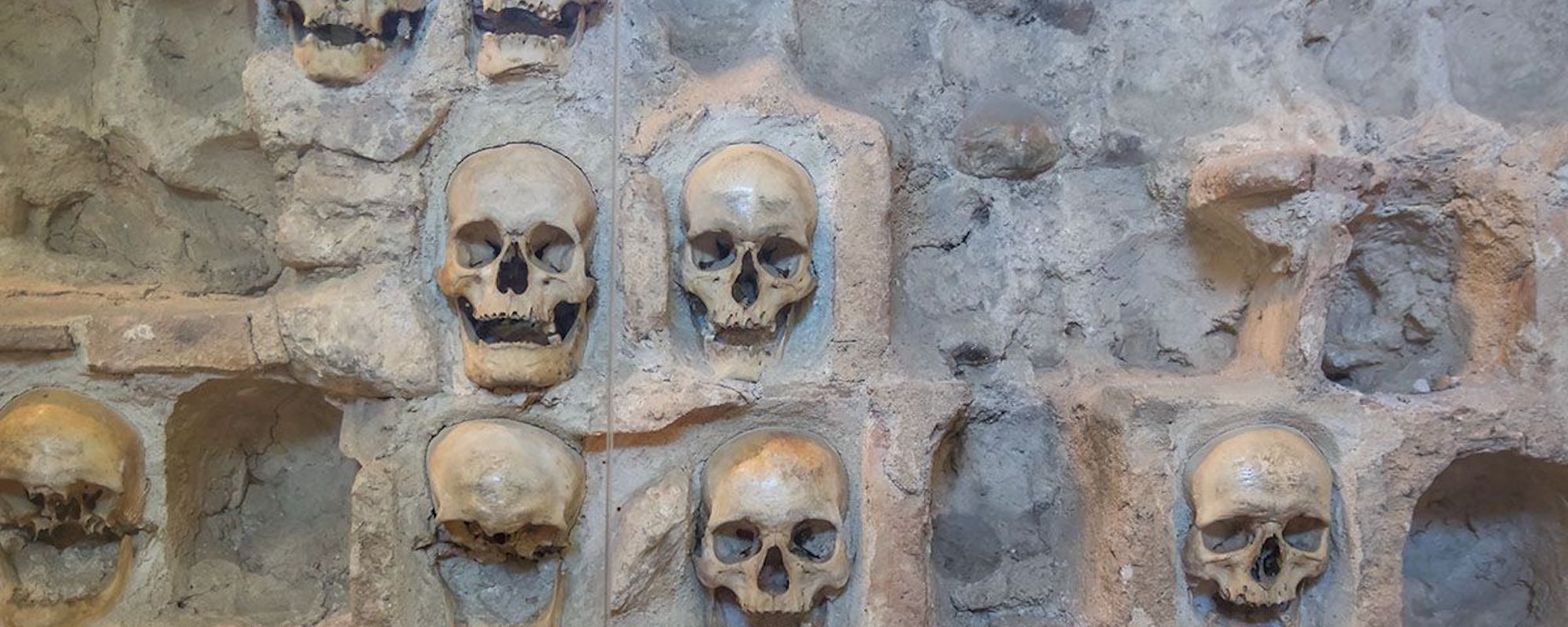 Wall Of Eight Niš Tower Skulls