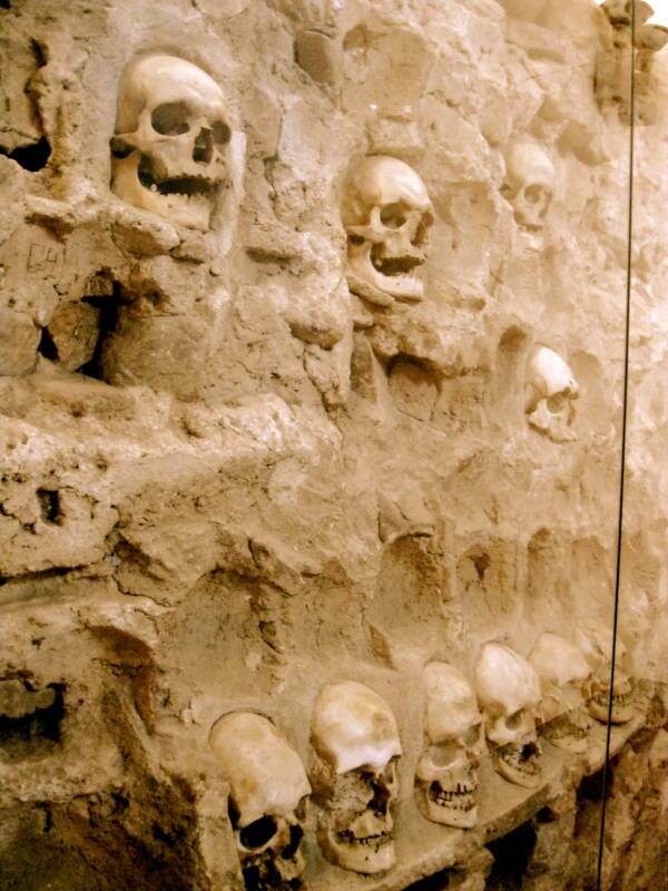 Wall Of Niš Tower Skulls