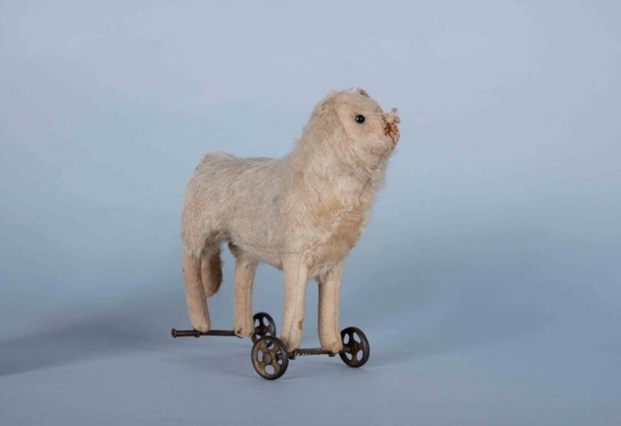 Wheelie Toy From Pei Museum Canada