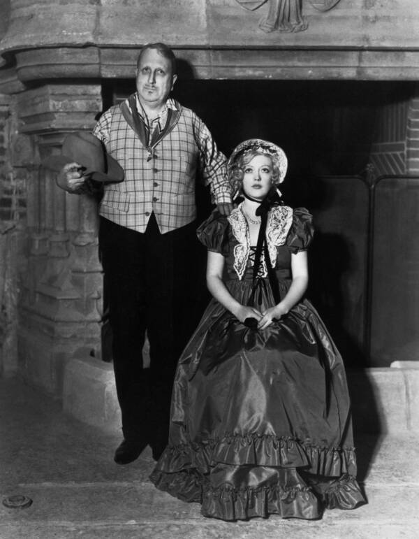 William Randolph Hearst And Marion Davies In Costume