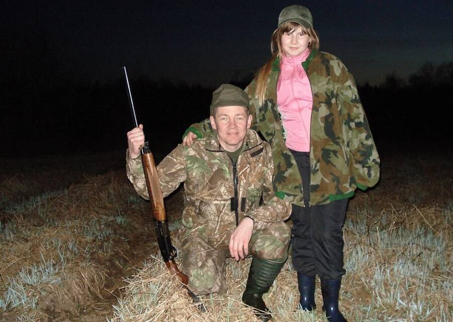 Alexandra Tyutcheva With Her Father