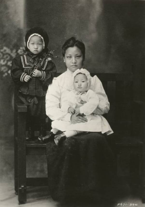 Anna May Wong Family Portrait