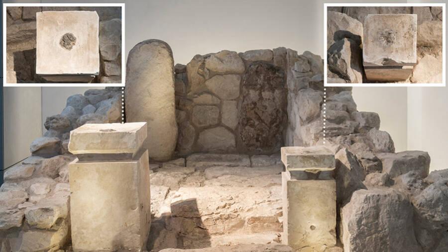 Arad Shrine At Israel Museum