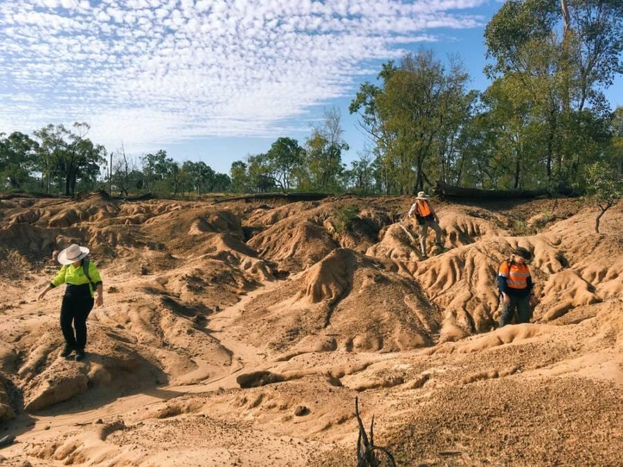 Australia Archeological Site