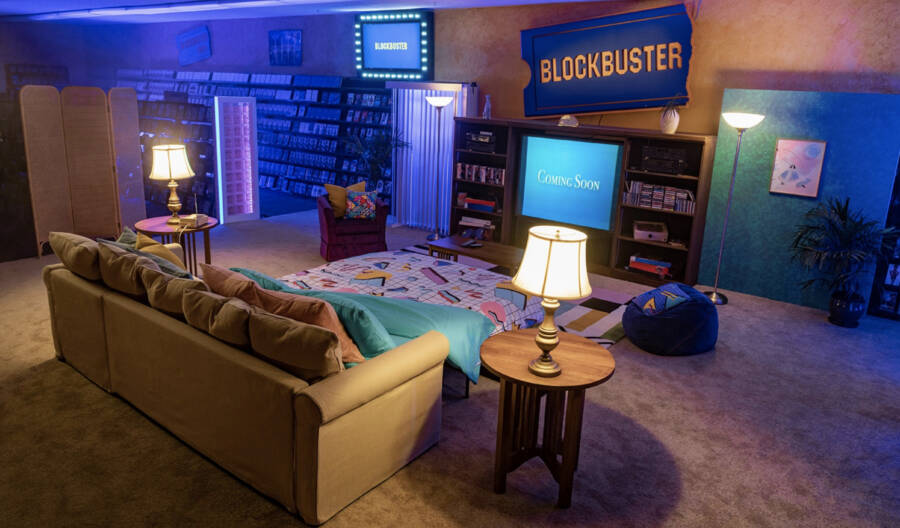 Blockbuster Airbnb Room
