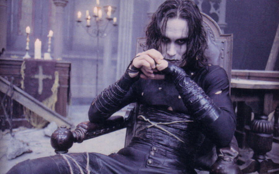 Brandon Lee In 'The Crow'