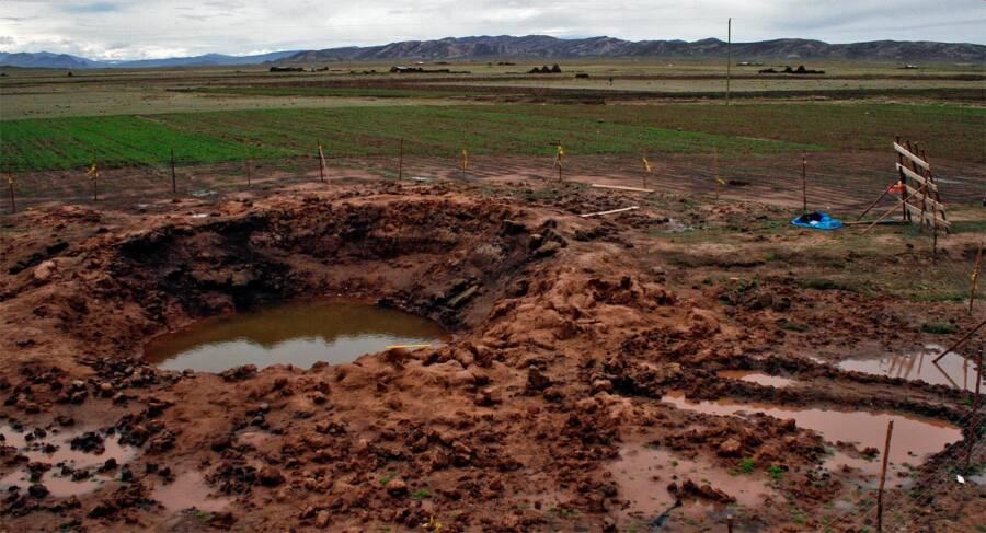 Carancas Meteorite Crater