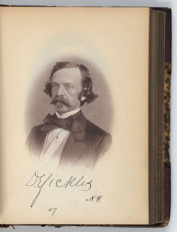 Dan Sickles Portrait