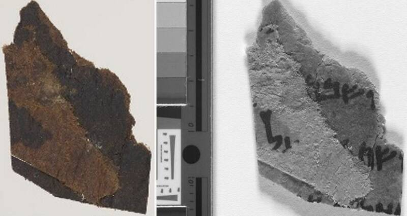 Researchers Just Found Hidden Writing On Supposedly Blank Dead Sea Scrolls