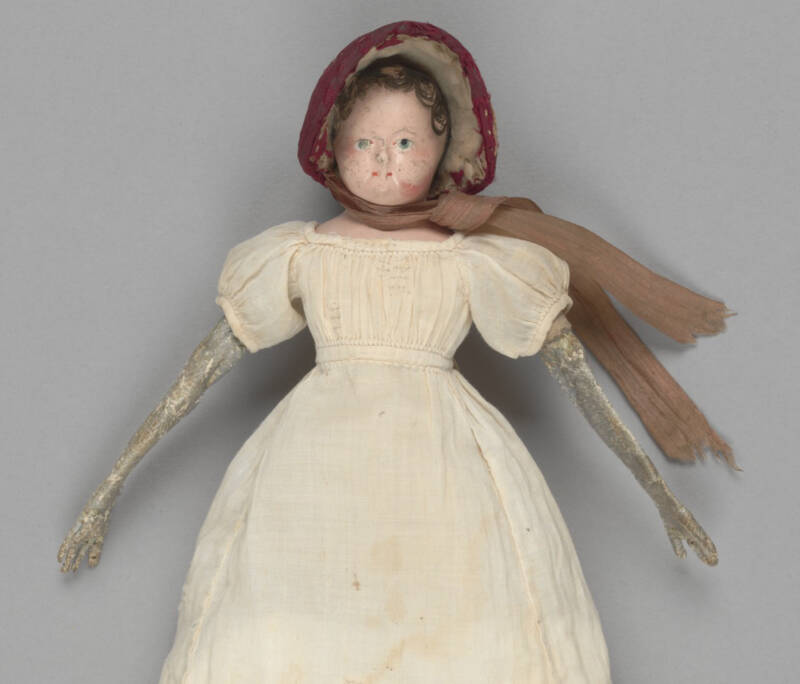 Doll From State Library Of Victoria Australia