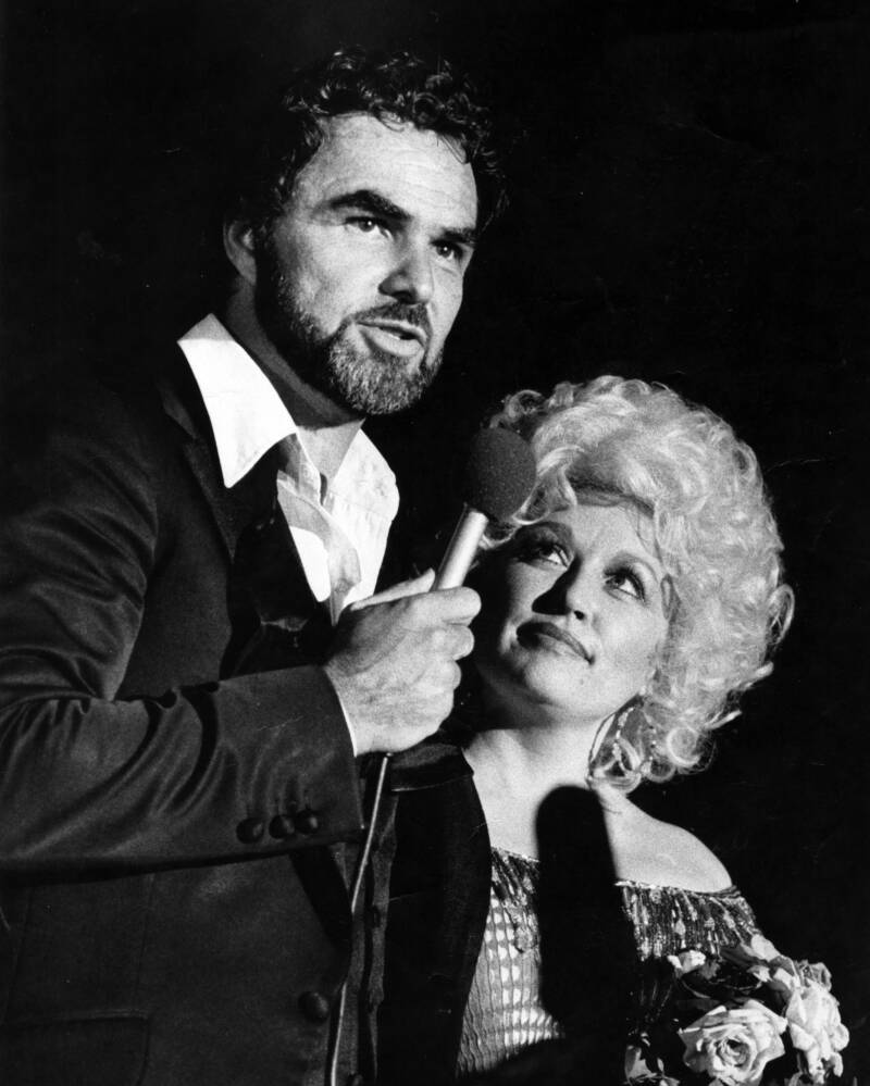 Dolly Parton Burt Reynolds