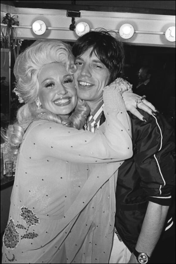 Dolly Parton Mick Jagger