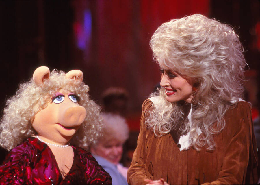 Dolly Parton Miss Piggy