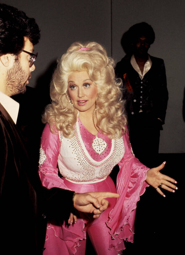 Dolly Parton Pink Jumpsuit