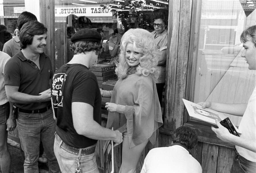 Dolly Parton Record Store