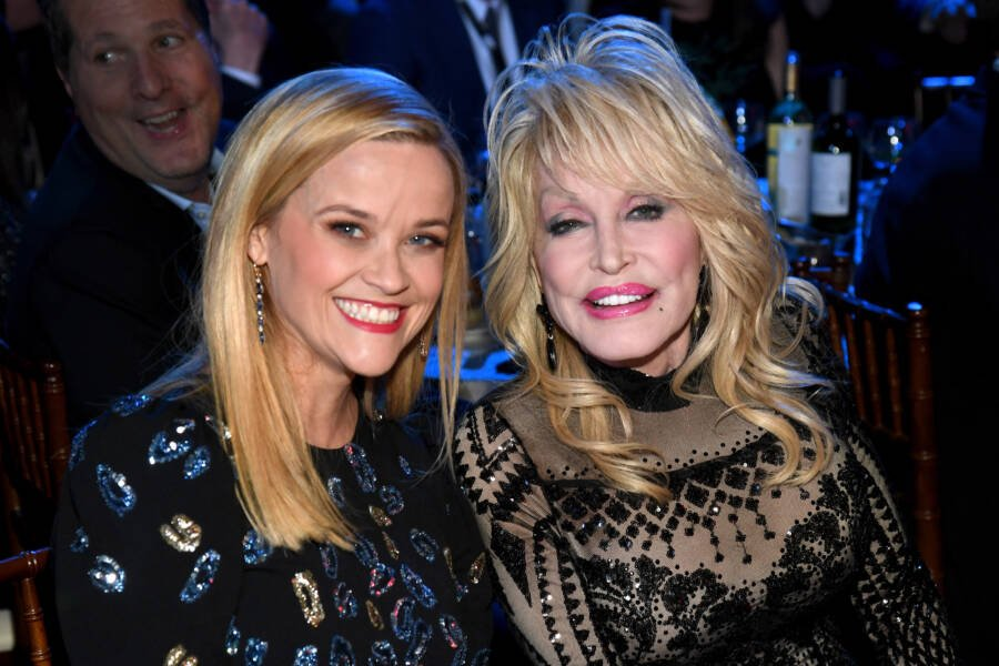 Dolly Parton Reese Witherspoon