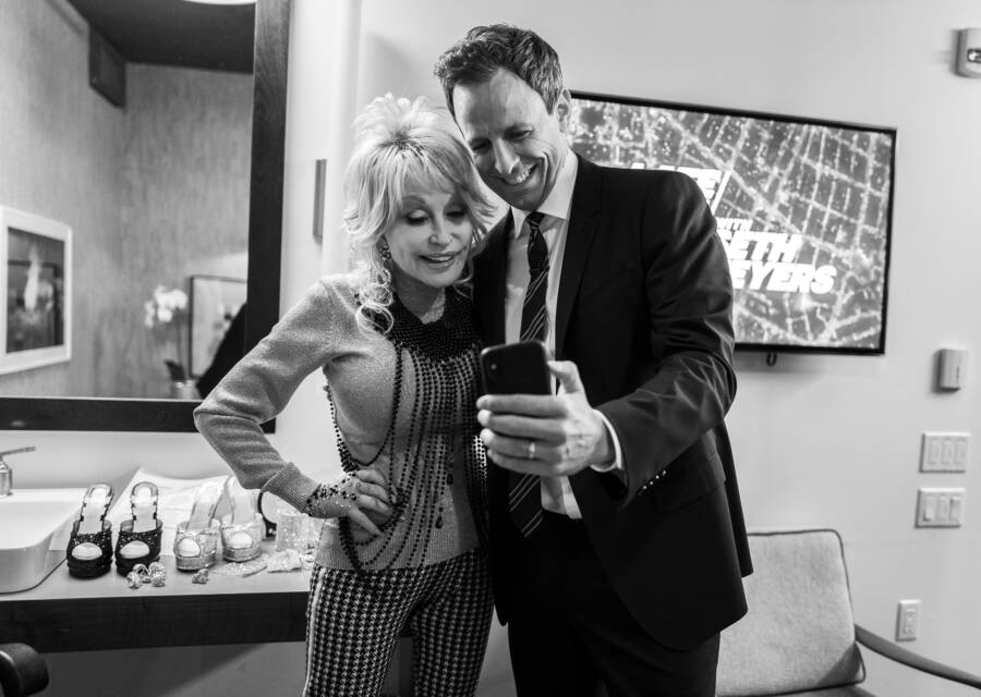 Dolly Parton Seth Myers