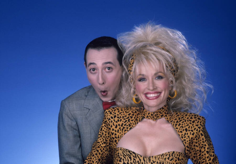 Dolly Pee Wee Herman