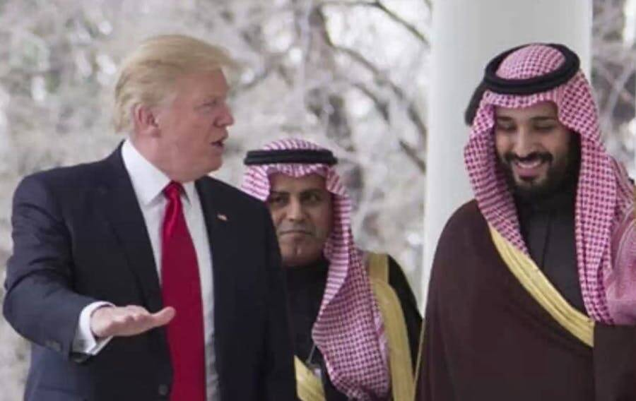 Donald Trump And Mohammed Bin Salman